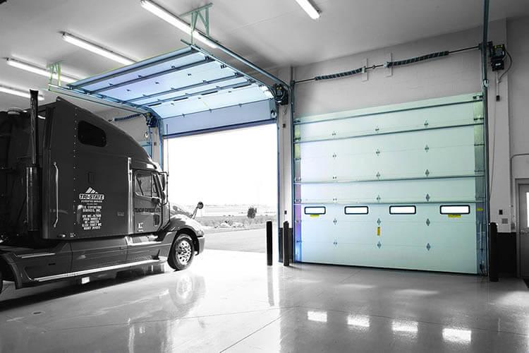 commercial garage door installation